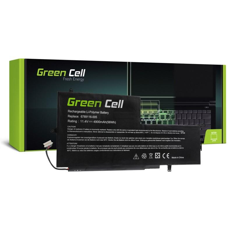 Green Cell Bateria do HP Envy x360 13-Y HP Spectre Pro x360 G1 G2 / 11,4V 4900mAh
