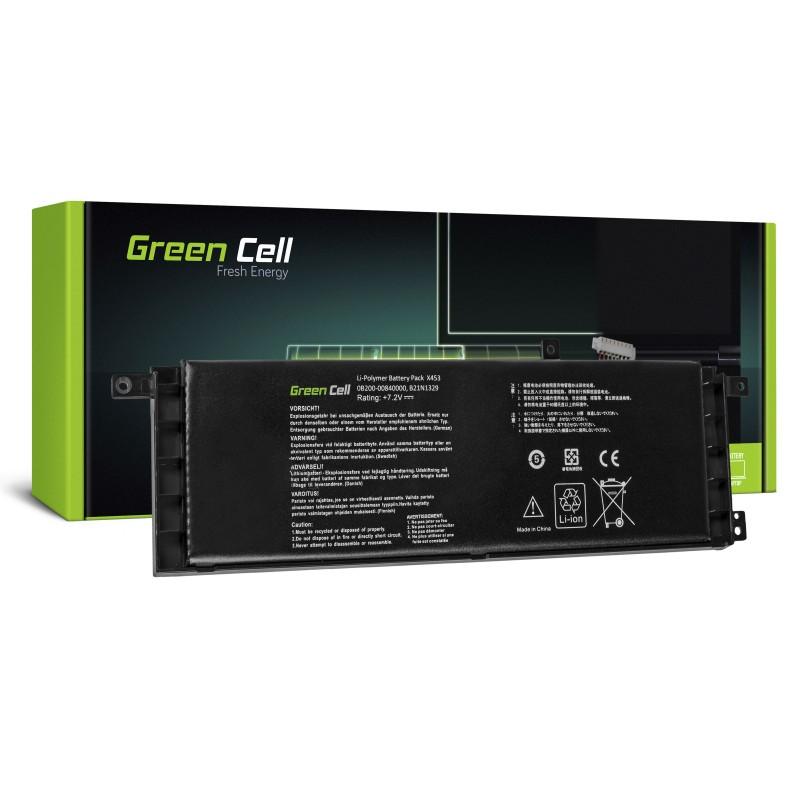 Green Cell Bateria do Asus X553 X553M F553 F553M / 7,2V 4000mAh