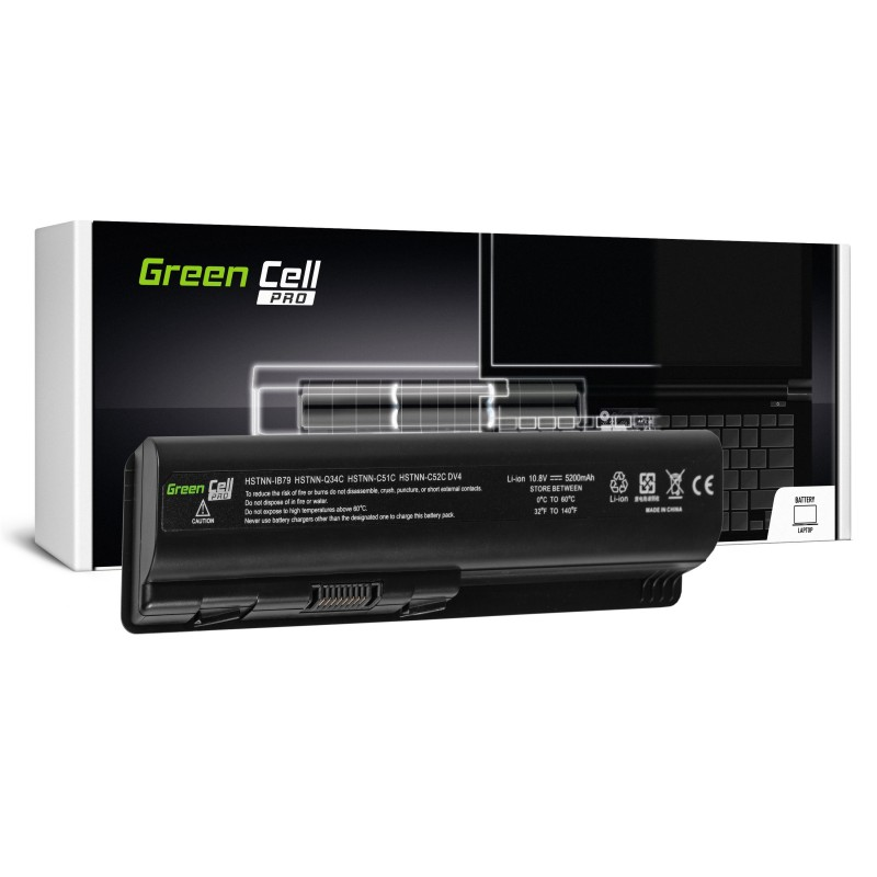 Green Cell PRO Bateria do HP DV4 DV5 DV6 CQ60 CQ70 G50 G70 / 11,1V 5200mAh