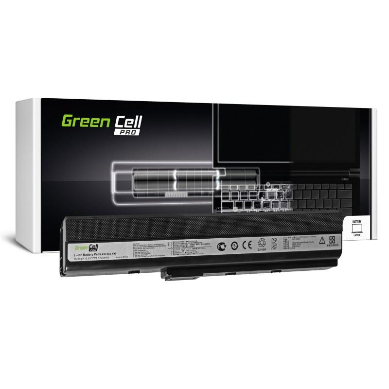 Green Cell PRO Bateria do Asus A32-K52 K52 X52 A52 / 11,1V 5200mAh
