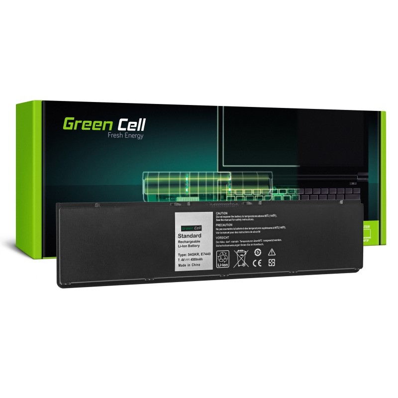Green Cell Bateria do Dell Latitude E7440 / 7,4V 4500mAh
