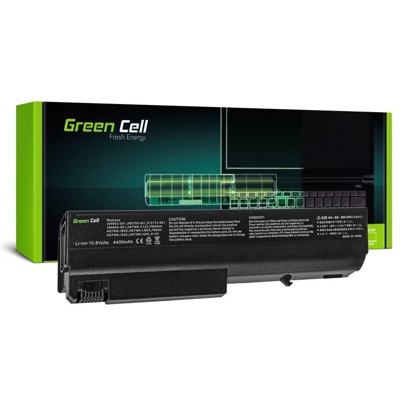 Green Cell Bateria do HP Compaq 6100 6200 6300 6900 6910 / 11,1V 4400mAh