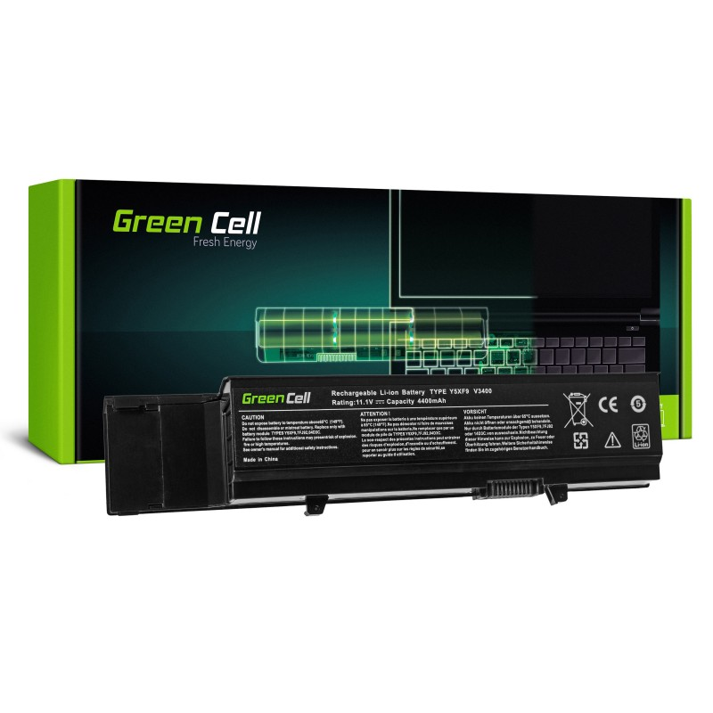 Green Cell Bateria do Dell Vostro 3400 3500 3700 Precision M40 M50 / 11,1V 4400mAh