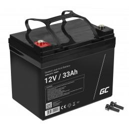 Akumulator AGM VRLA Green Cell 12V 33Ah
