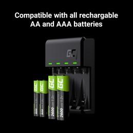 Ładowarka Green Cell GC VitalCharger do akumulatorów AA AAA R6 R03 Ni-MH