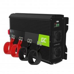 Przetwornica napięcia Inwerter Green Cell PRO 12V na 230V 3000W/6000W Modyfikowana sinusoida