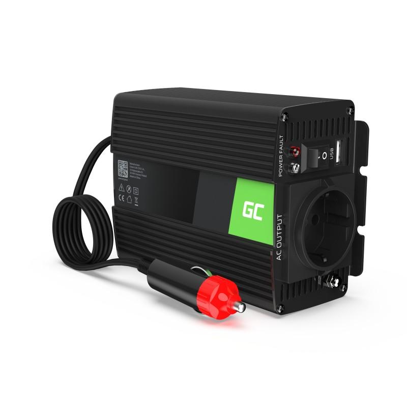 Samochodowa Przetwornica Napięcia Green Cell ® 12V do 230V, 150W/300W
