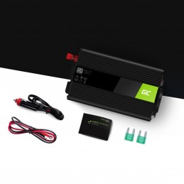 Samochodowa Przetwornica Napięcia Green Cell ® 24V do 230V, 500W/1000W