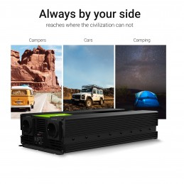 Samochodowa Przetwornica Napięcia Green Cell ® 12V do 220V, 3000W/6000W