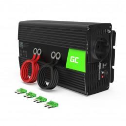 Przetwornica Green Cell® 24V na 230V Modyfikowana sinusoida 1000W