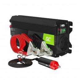 Przetwornica napięcia Inwerter Green Cell PRO 24V na 230V 500W/1000W Modyfikowana sinusoida