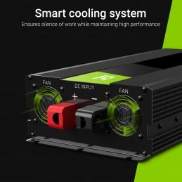 Przetwornica Green Cell® 24V na 230V Czysta sinusoida 1500W