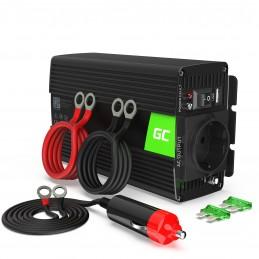 Samochodowa Przetwornica Napięcia Green Cell ® 12V do 230V, 500W/1000W