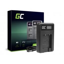 Ładowarka MH-66 Green Cell ® do Nikon EN-EL19, Coolpix W100, A100, A300, S32, S33, S100, S2750, S3300, S5200, S6400, S7000
