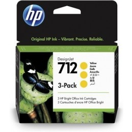 Ink 712 3-Pack 29ml Yellow...