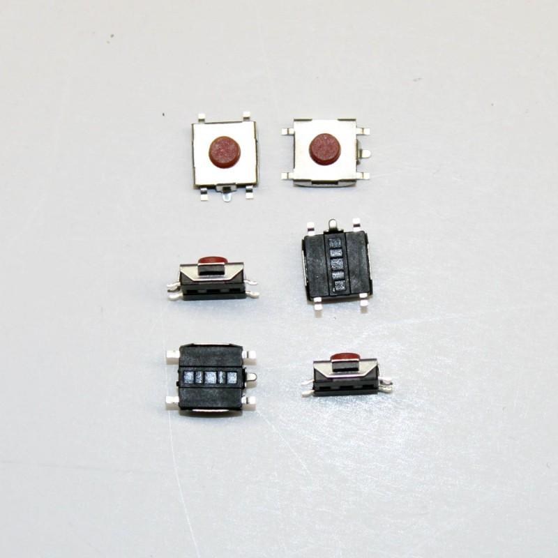 Mikroprzełącznik 1-pozycyjny 6,2 x 6,2 x 3.1mm